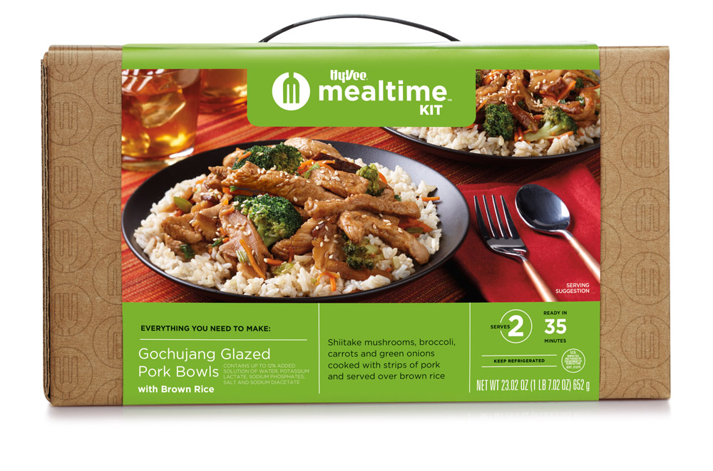 Gochujang Pork Mealtime Kit box